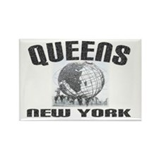 Queens, New York Rectangle Magnet