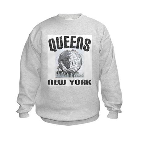 Queens, New York Kids Sweatshirt