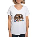 Comic Sans Women's V-Neck T-Shirt