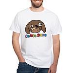 Comic Sans White T-Shirt
