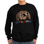 Comic Sans Sweatshirt (dark)