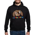Comic Sans Hoodie (dark)