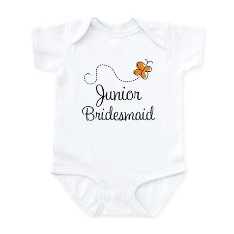 Pretty Wedding Junior Bridesmaid Infant Bodysuit