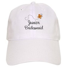 Pretty Wedding Junior Bridesmaid Baseball Cap