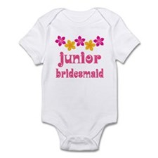 Junior Bridesmaid Tropical Hawaiian Infant Bodysui
