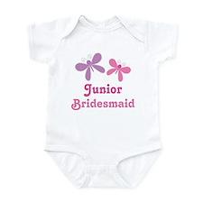 Butterflies Junior Bridesmaid Infant Bodysuit