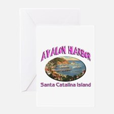 Avalon Harbor Greeting Card