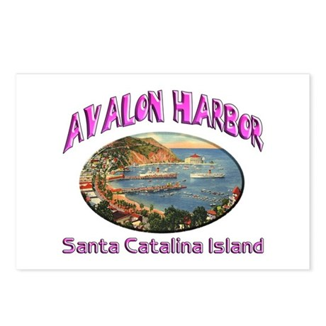 Avalon Harbor Postcards (Package of 8)