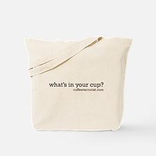 Cute Decaf Tote Bag