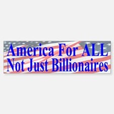 America For ALL Bumper Bumper Sticker