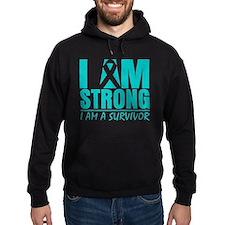 I am Strong Cervical Cancer Hoodie