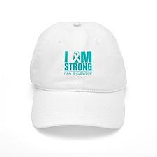 I am Strong Cervical Cancer Baseball Cap