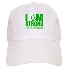 I am Strong Bile Duct Cancer Baseball Cap