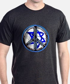 PEACE HEART ISRAEL / JEWISH T-Shirt