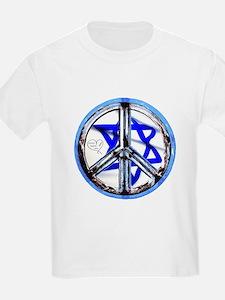 PEACE HEART ISRAEL / JEWISH T-Shirt