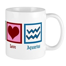 Peace Love Aquarius Mug