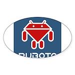 Ruboto Sticker (Oval 50 pk)