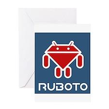 Ruboto Greeting Card