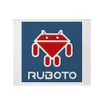 Ruboto Throw Blanket