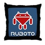 Ruboto Throw Pillow