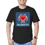Ruboto Men's Fitted T-Shirt (dark)