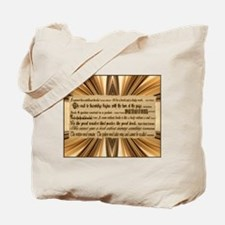 Quotes about Books Tote Bag