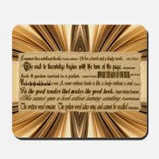 Quotes about Books Mousepad