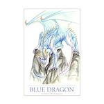 Blue Dragon 11x17 Print