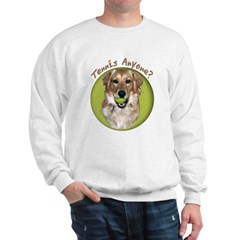 Golden Retriever Tennis Sweatshirt