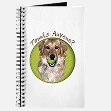 Golden Retriever Tennis Journal