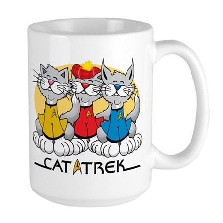 Cat Trek Large Mug