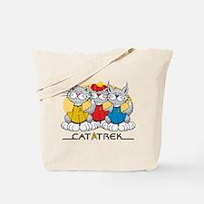 Cat Trek Tote Bag