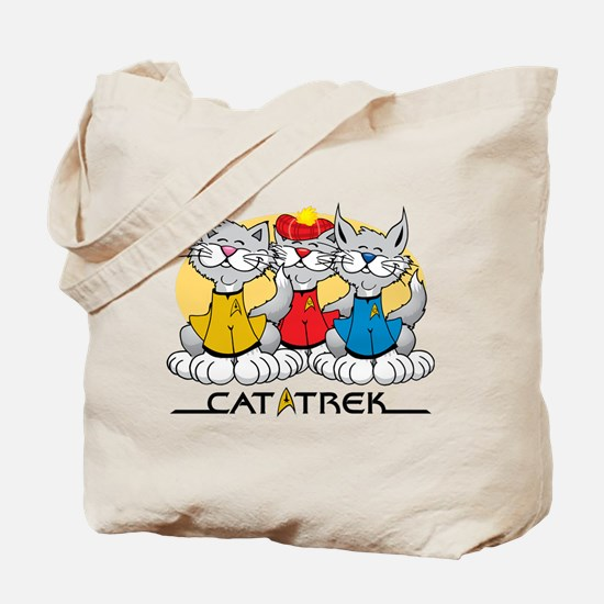 Cat Trek Tote Bag