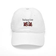 Black Russian Terrier Mom Baseball Cap