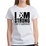 I am Strong Melanoma Women's T-Shirt