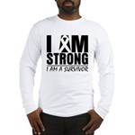 I am Strong Melanoma Long Sleeve T-Shirt