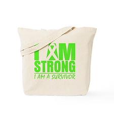 I am Strong Lymphoma Tote Bag