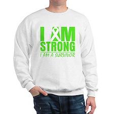 I am Strong Lymphoma Sweatshirt
