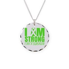 I am Strong Lymphoma Necklace