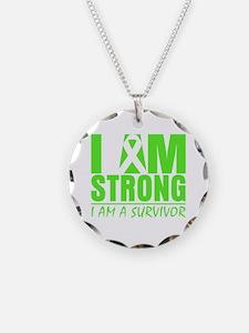 I am Strong Lymphoma Necklace