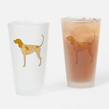 American English Coonhound Drinking Glass
