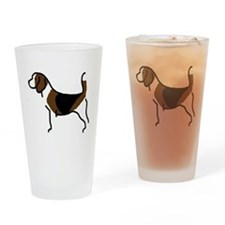 Beagle Pint Glass