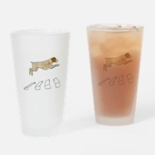 Broad Jump LT Drinking Glass