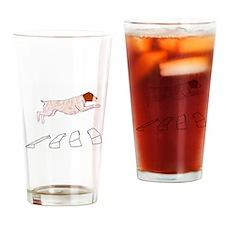 GWP Broad Jump Drinking Glass