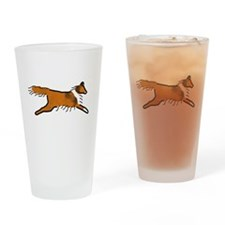 Sable Sheltie Pint Glass