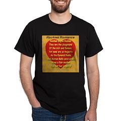 Rockies Romance Black T-Shirt