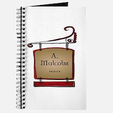 Jamie A. Malcolm Printer Journal