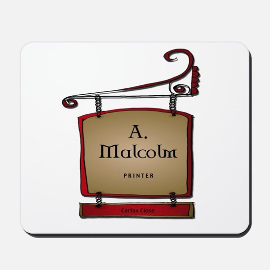 Jamie A. Malcolm Printer Mousepad