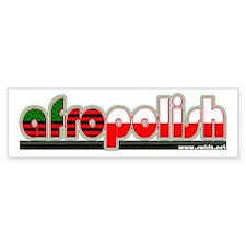 AfroPolish Bumper Sticker