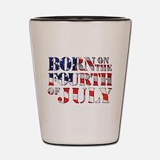 Cute Fourth of july Shot Glass